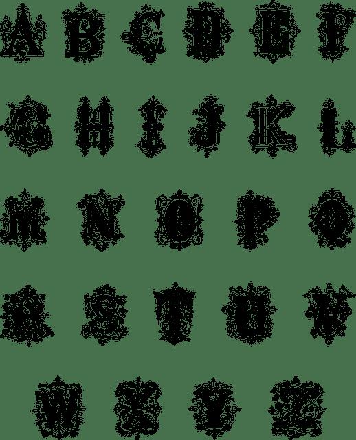 Imprimer des lettres autocollantes noires
